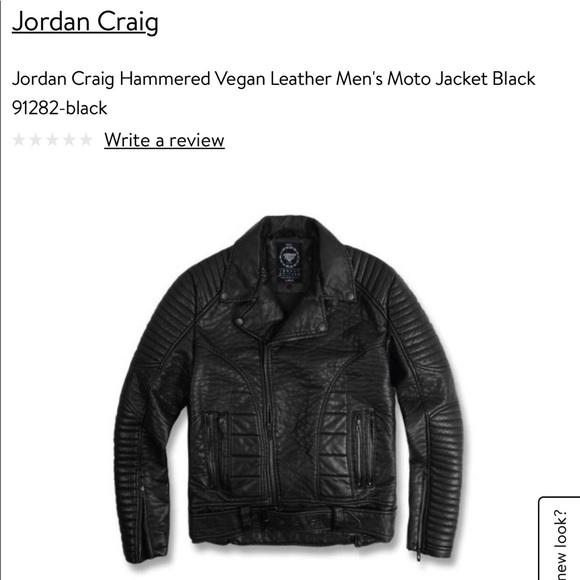 4c4447f39b9 jordan craig Jackets & Coats | Mens Vegan Leather Jacket | Poshmark